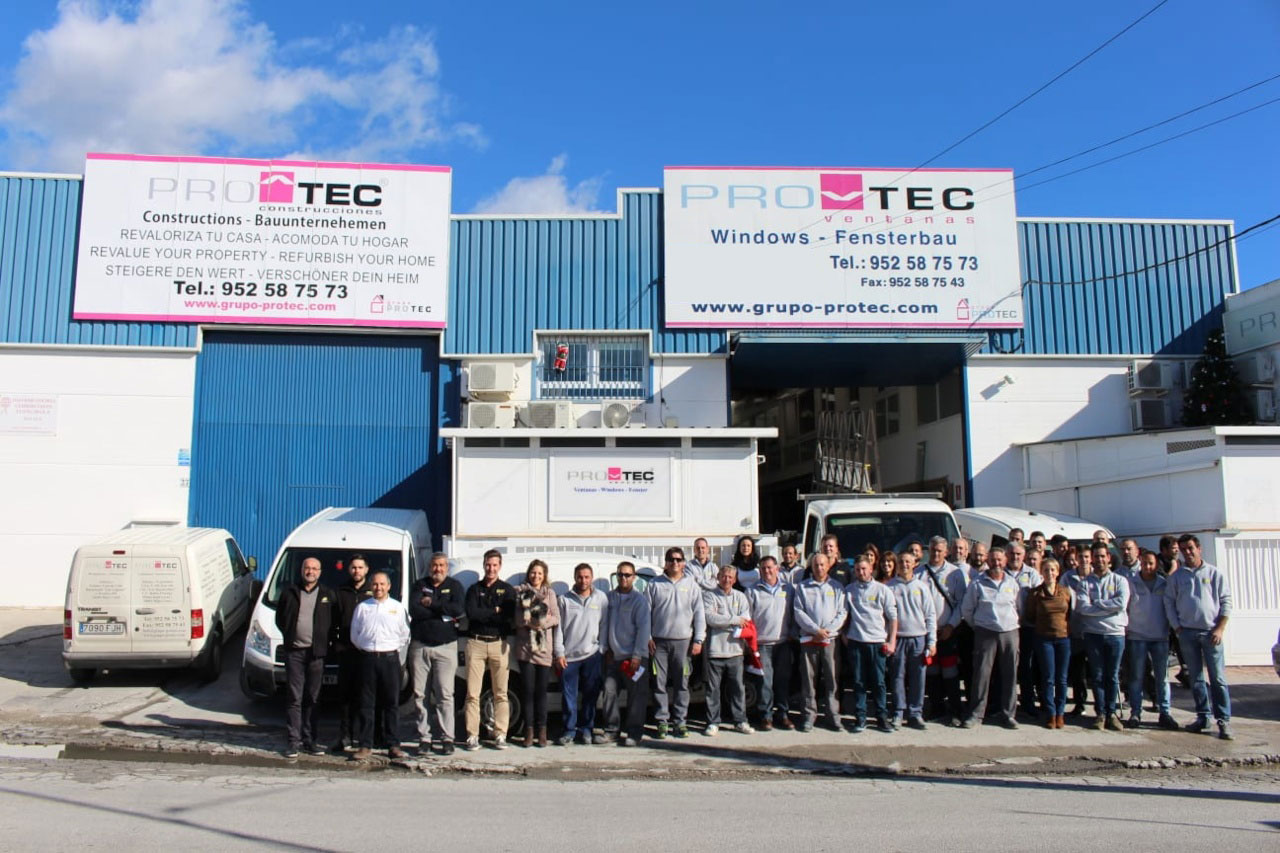 The Protec Group team in December 2018