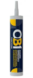 OB1 Immediate Grip Adhesive is a unique solvent-free construction